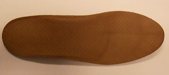 Plantar orthoses for adults